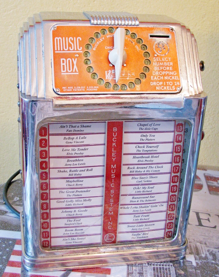 wallbox Buckley Music Box